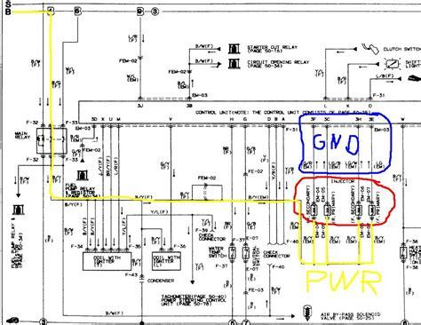 wiring diagram rx7 mazda ecu wiring free engine image