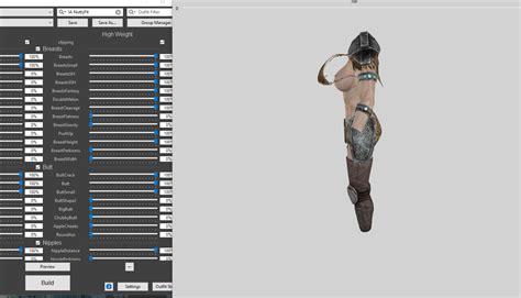 immersive armors for uunp bodyslide at skyrim nexus mods immersive armors nuttyfit uunp replacer with bodyslide at