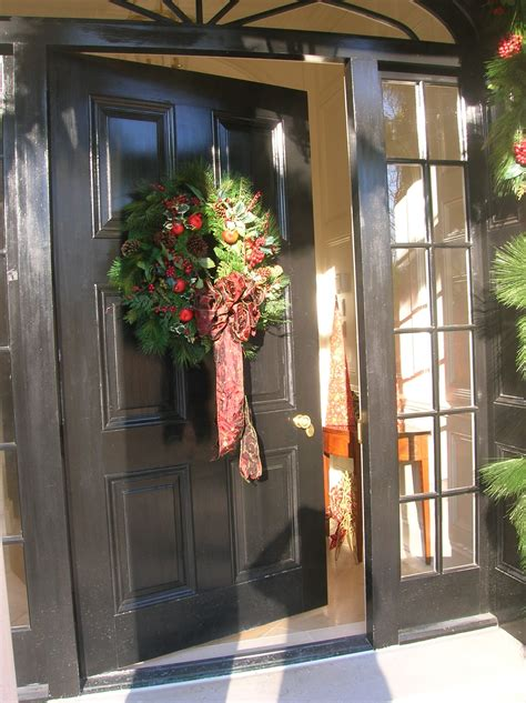 front door entrance decorating ideas december 2010 melinda s photos