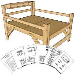 queen size loft bed plans short height op loftbed