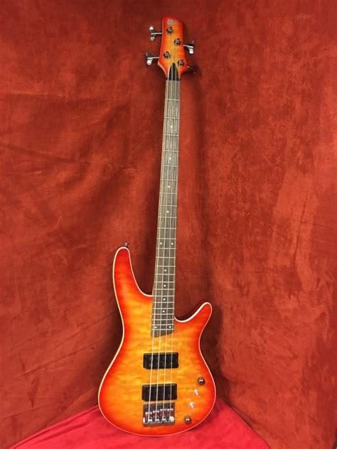 Gitar Bass Sdgr 31 ibanez soundgear sdgr srx3exqm1 bass guitar buya