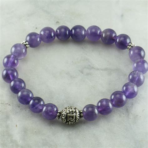 Wisdom Mala Bracelet for Pitta   21 mala beads, yoga bracelet