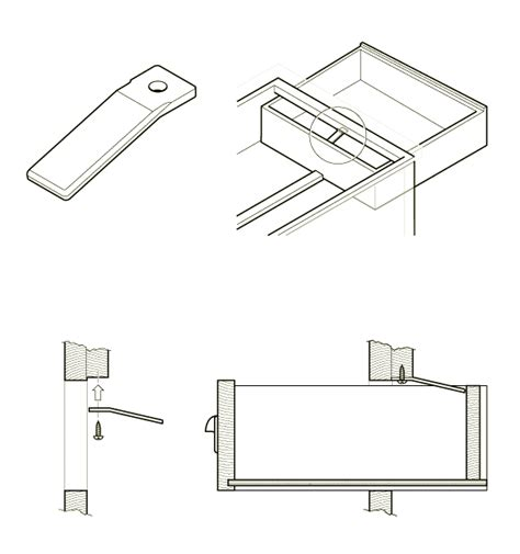how to install the 32 125 drawer stop swisco