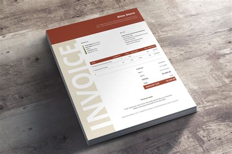 creative invoice template invoice templates bundle 30 creative self calculating