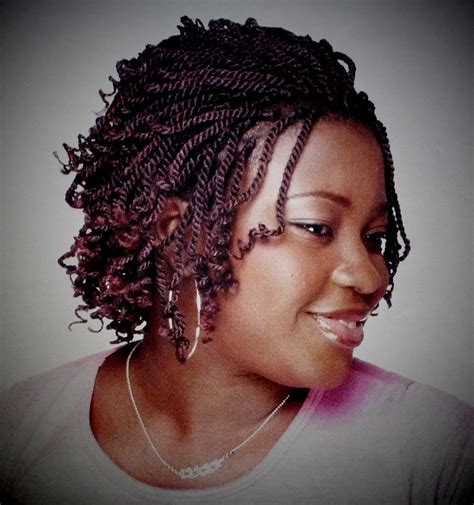 short kinky hair styles short style braids kinky twist braids international vol