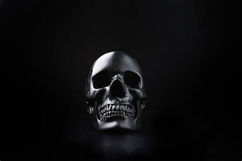 Black Skull skull tidy organise your essentials in your
