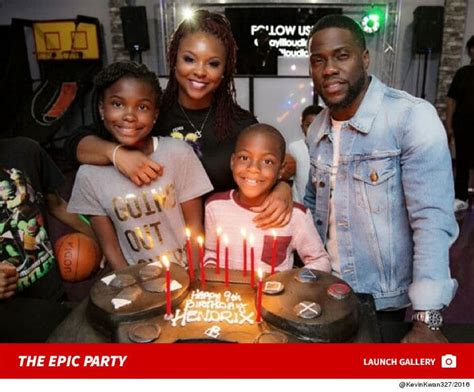 kevin hart game show kevin hart and torrei gettin their game on for son s