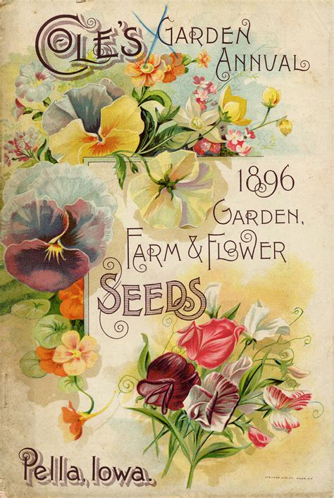 Seed Catalogs From Smithsonian Institution Libraries Flower Garden Catalogs