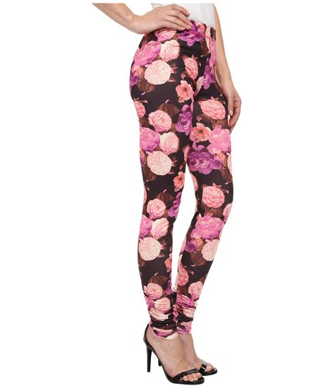 Betsey Johnson For Valentines Day 2 by Betsey Johnson Floral Drama Printed Legging In Floral
