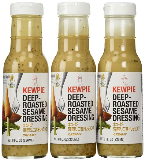 kewpie dressing kewpie roasted sesame dressing 64 ounce