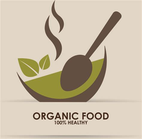 Food Logo Design creative organic food logo vector free vector in adobe illustrator ai ai vector