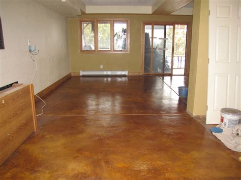 painting a floor how to paint the basement floor using basement floor paint
