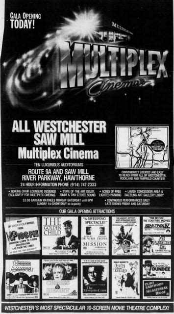 All Westchester Saw Mill Multiplex in Hawthorne, NY