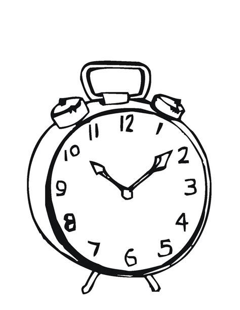 imagenes para colorear reloj reloj para colorear pintar e imprimir