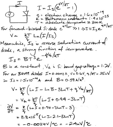 saturation current equation in diode saturation current formula images