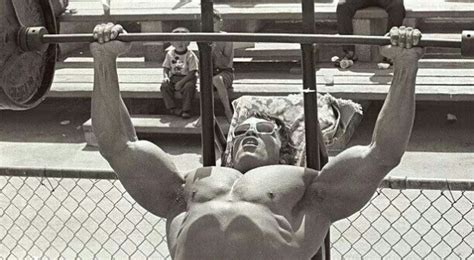 arnie bench press 4 strategies for a bigger bench arnold schwarzenegger