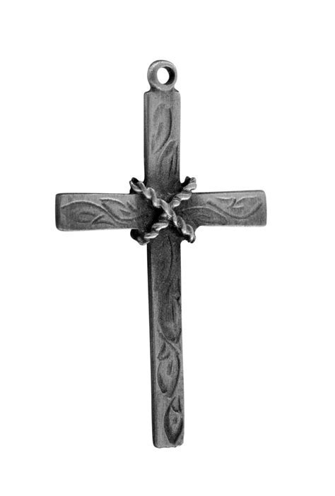 Old Rugged Cross   Shiny Pewter USA