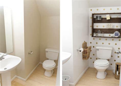 polka dot bathroom insideways polka dot bathroom reveal
