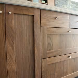 Detail Shot Of Semihandmade Walnut Shaker Ikea Kitchen