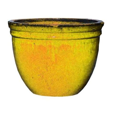 plant stand of az 20 in premium glazed ceramic pot 1290b