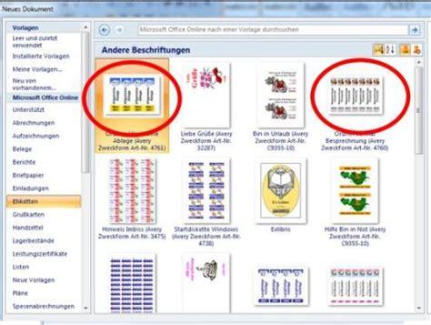 Etiketten Drucken Chip by Vorlagen F 252 R Ordnerr 252 Cken Wo Finde Ich Sie Chip