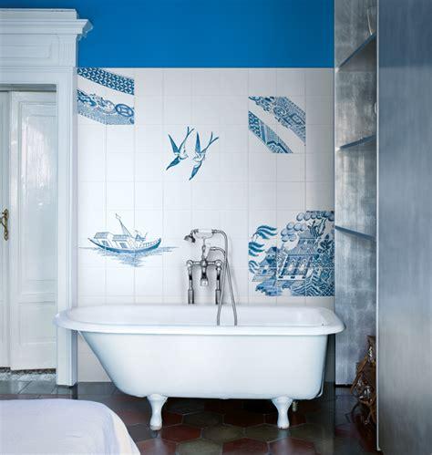bardelli bagni decori a mano blue willow by ceramica bardelli bagno i