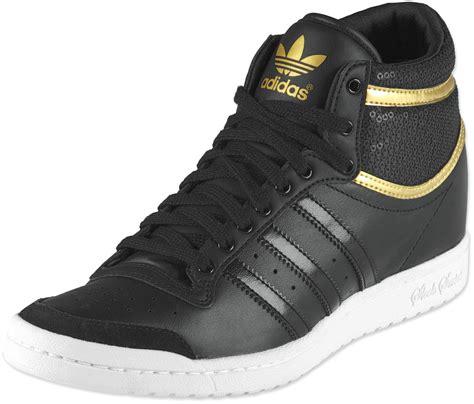 adidas high top shoes for adidas top ten high sleek heel w shoes black gold