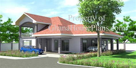 4 Bedroom 3 5 Bath House Plans by Ghana House Plans Ransford House Plan