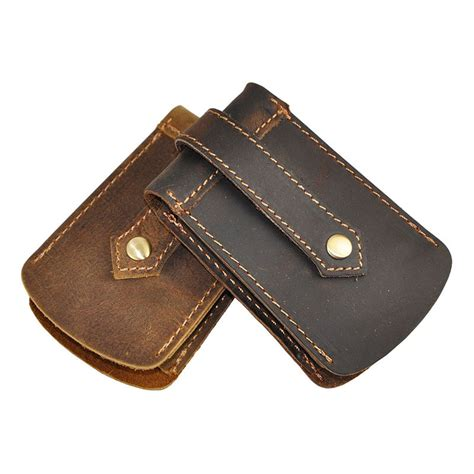 Ll1906be 100 Original Import High Quality 1 high quality fashion 100 cowhide leather key bag car key wallets waist key bag