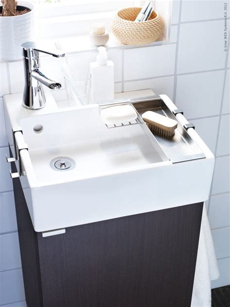 small sinks for half bath tiny ikea sink for half bath let s build a house
