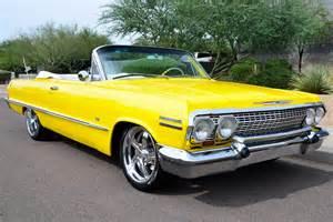 1963 Chevrolet Impala Convertible 1963 Chevrolet Impala Custom Convertible 177430