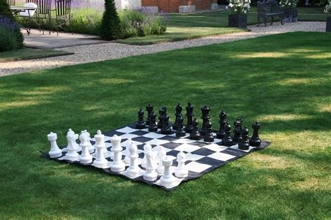 new garden chess set 30cm chess pieces ideal for