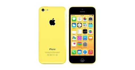 iphone at t apple iphone 5c 8gb 4g lte yellow smart phone att excellent condition used cell phones