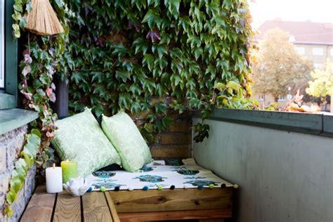 Pflanzen Auf Balkon by Balkon Sichtschutz Mit Pflanzen Natur Pur Auf Dem Balkon