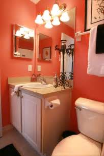 Coral Color Bathroom Decor 17 Best Ideas About Coral Bathroom On Pinterest Coral