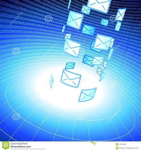 background for messages email message background with binary code royalty free