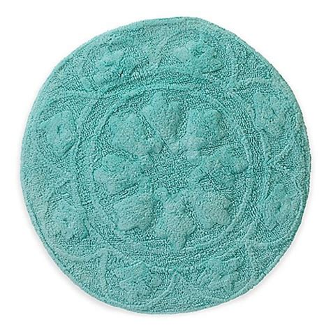 30 round rugs and exles of how to complete the look of calypso 30 inch round bath rug bed bath beyond