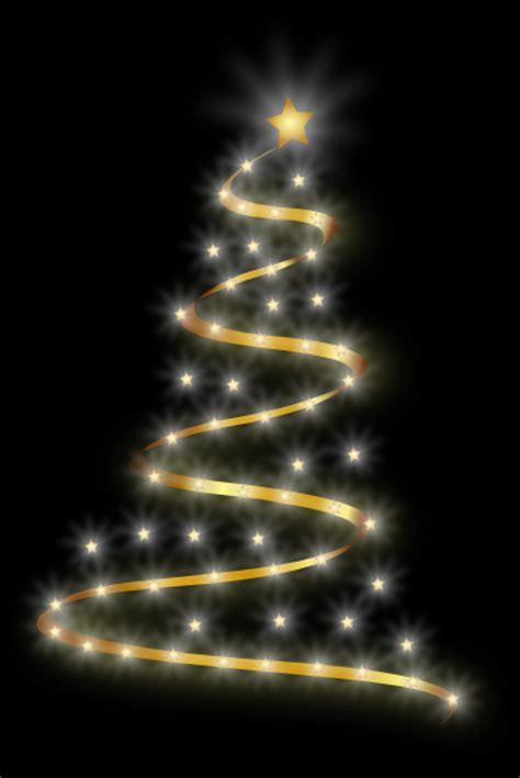 modern christmas tree  lights clip art  clkercom vector clip art  royalty