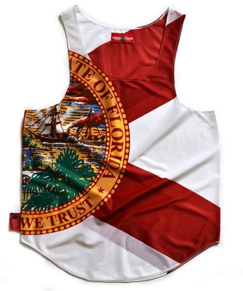 Fl Top New Flag florida quot state quot flag tank top chris cardi house of design