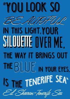 ed sheeran perfect lyrics az 1000 ideas about tenerife sea on pinterest thinking out