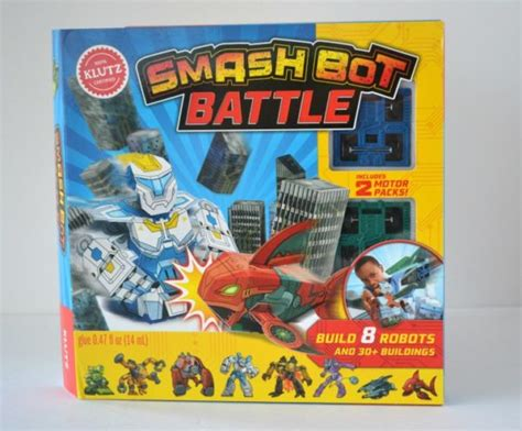 smash bot battle klutz 0545906482 gift ideas that create imagination and creativity