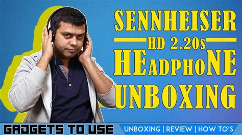 Sennheiser Headphone Hd 2 20s sennheiser hd 2 20s headphone not just unboxing on