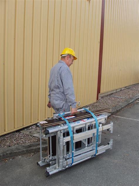 Echafaudage 4 M 176 by Echafaudage Valise Pliant Aluminium Hauteur Travail 4 M