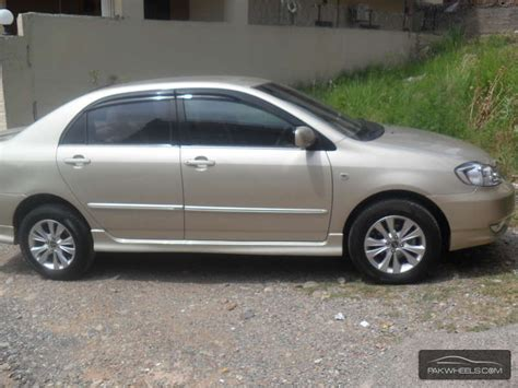 Toyota Corolla 05 For Sale Used Toyota Corolla Altis 1 8 2005 Car For Sale In