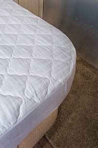 Travel Trailer Mattress Sizes by Quilted Mattress Pad Cover For Airstream