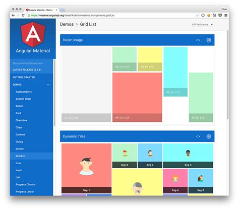 angular material design layout exles explore angular material and move those demos to codepen