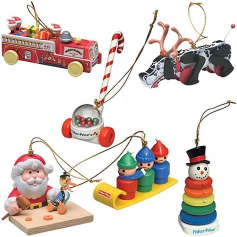 fisher price series 1 ornaments set basic fun retro