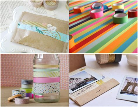 washi tape projects omiyage blogs diy washi tape projects