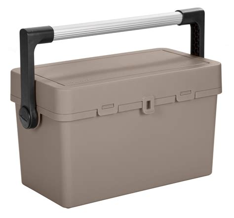 removable tray top octoplus fishing carryall box w metal handle and removable