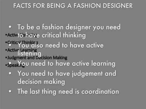 fashion design facts fashion designer by hailey fisher